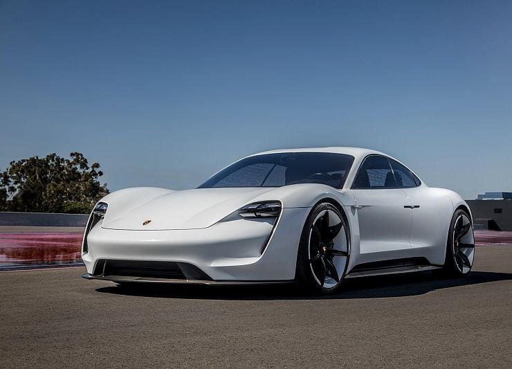Porsche Unveils Its First-Ever Electric Car