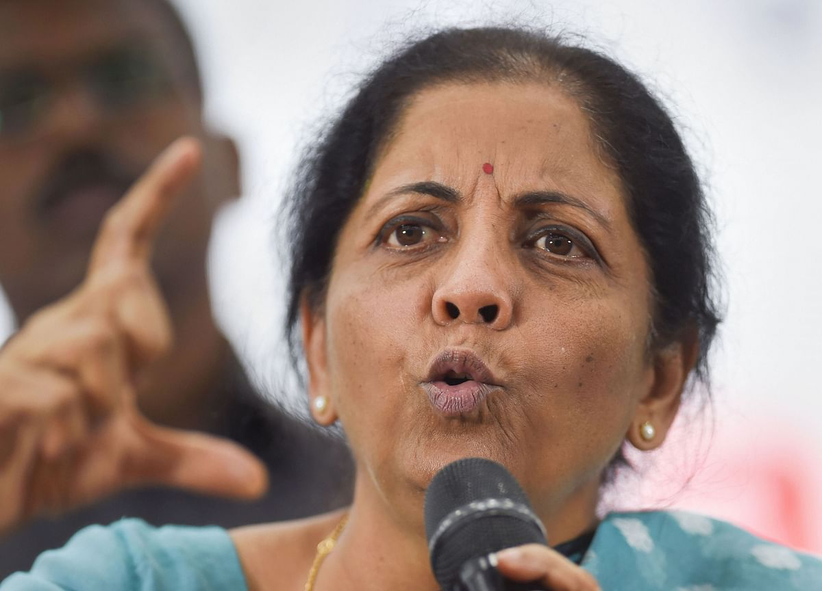 Finance Minister Asks Large CPSEs To Make Investments To Pump Liquidity