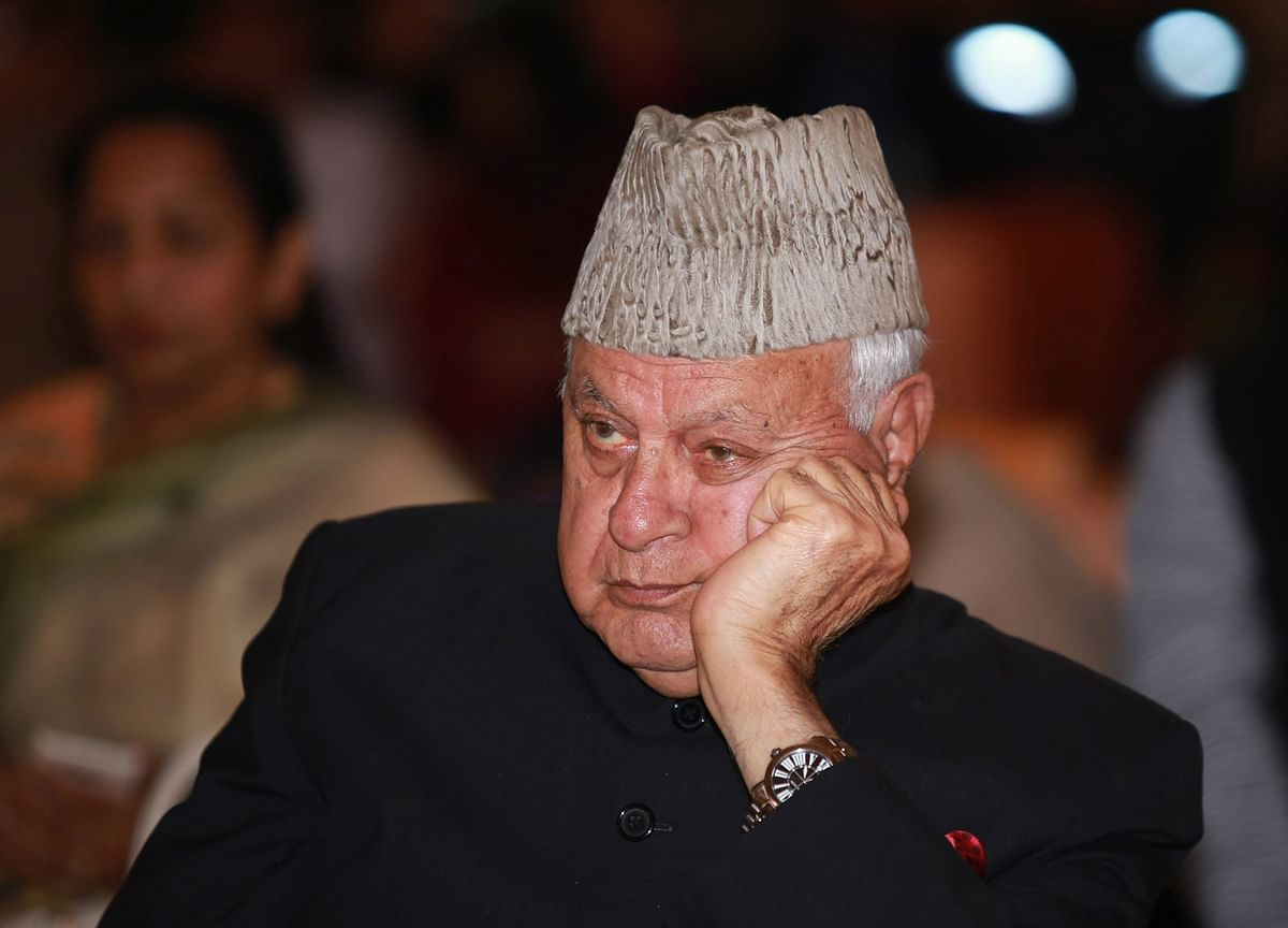 Former J&K CM Farooq Abdullah Arrested Under Public Safety Act, Home Declared Jail