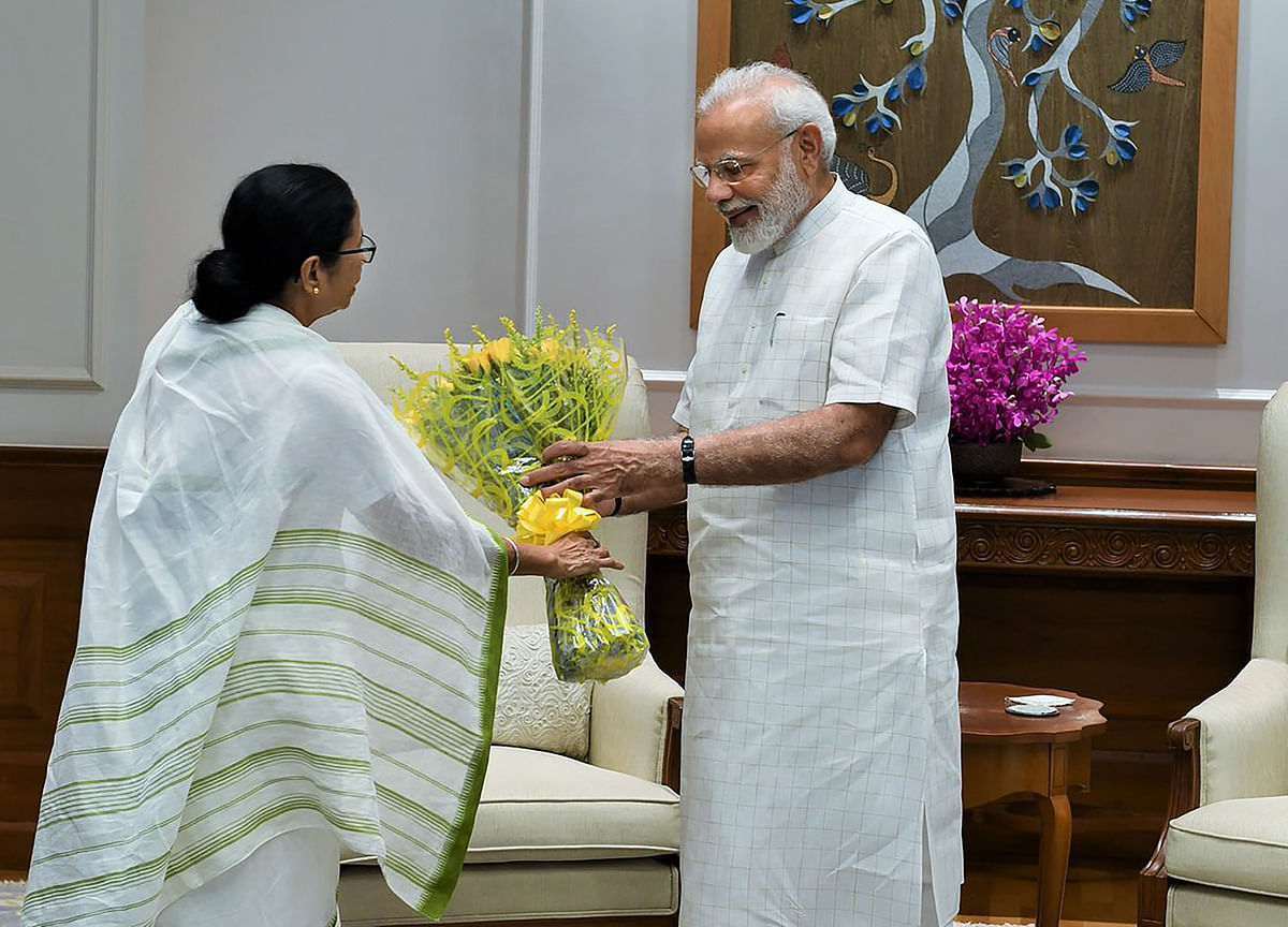 Mamata Banerjee Meets PM Modi; No Discussion On NRC