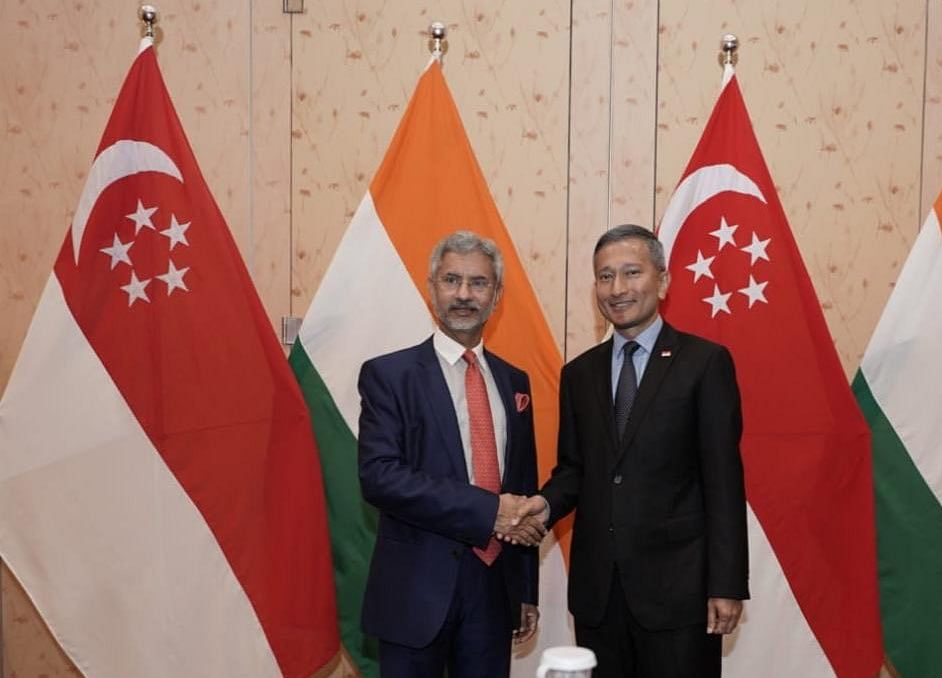 India, Singapore Reaffirm Commitment To Boost Ties