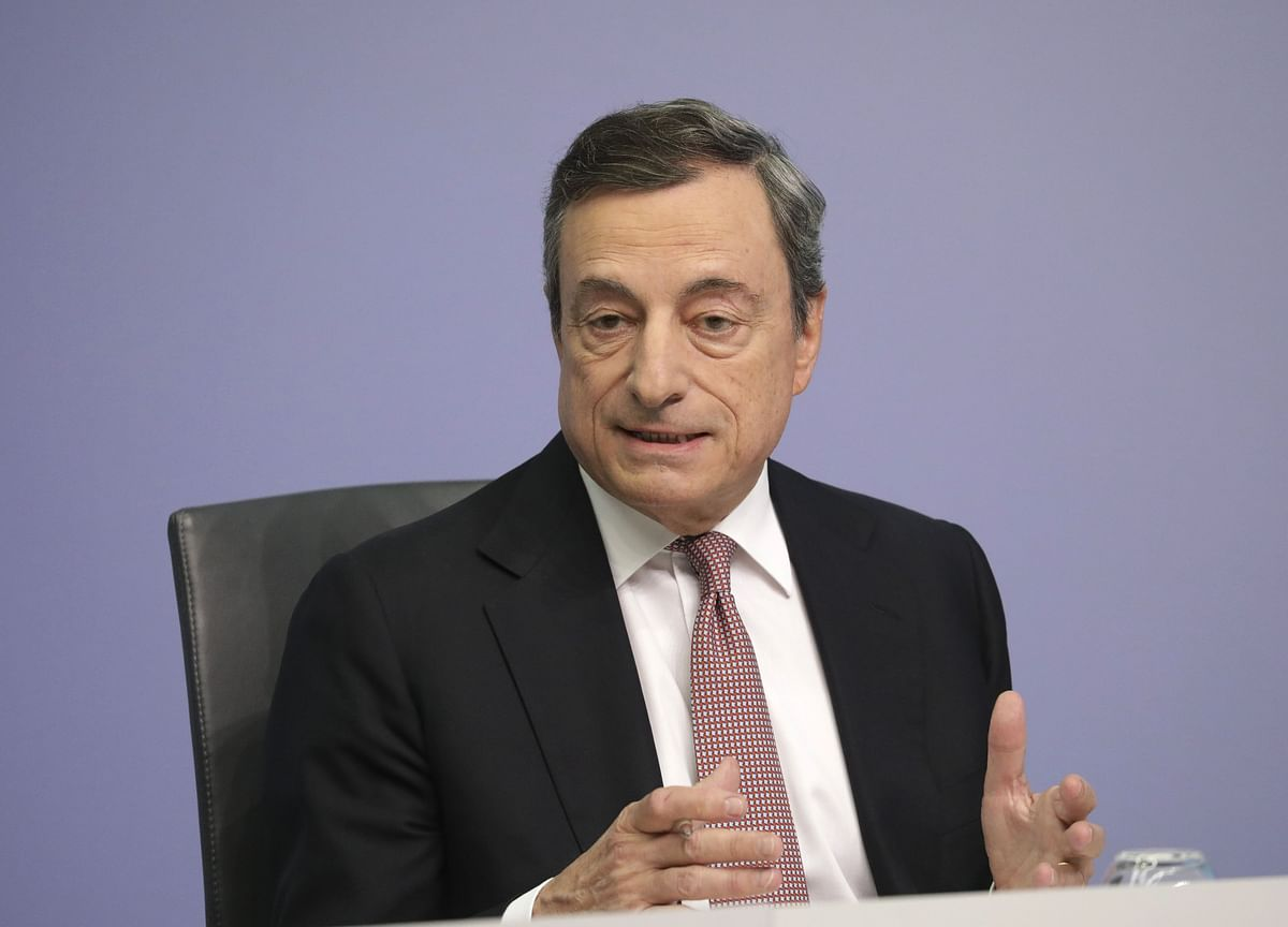 Troubles at the ECB Aren'tDraghi's Fault