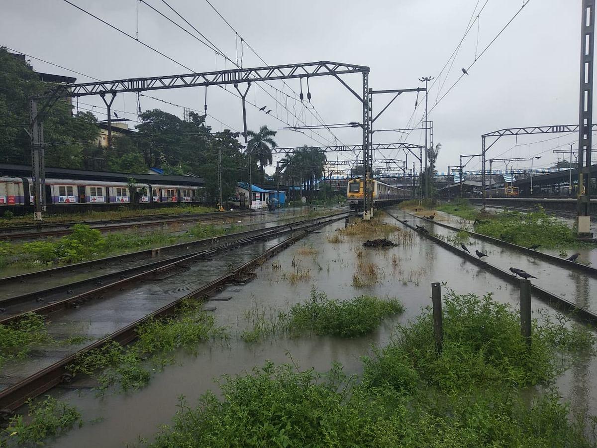 Heavy rains lash Mumbai. (Photographer: Rajagopalan Venkataraman/BloombergQuint)