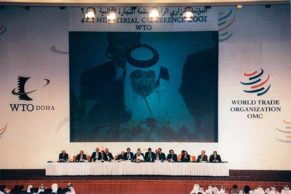 The WTO Ministerial Conference held Nov. 9-13, 2001, in Doha, Qatar. (Photograph: WTO)