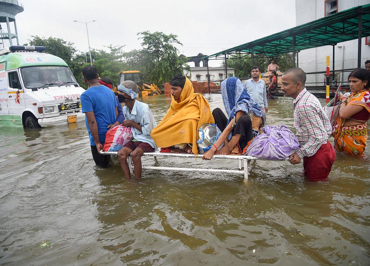 Incessant Rains Lash Bihar, 13 Dead