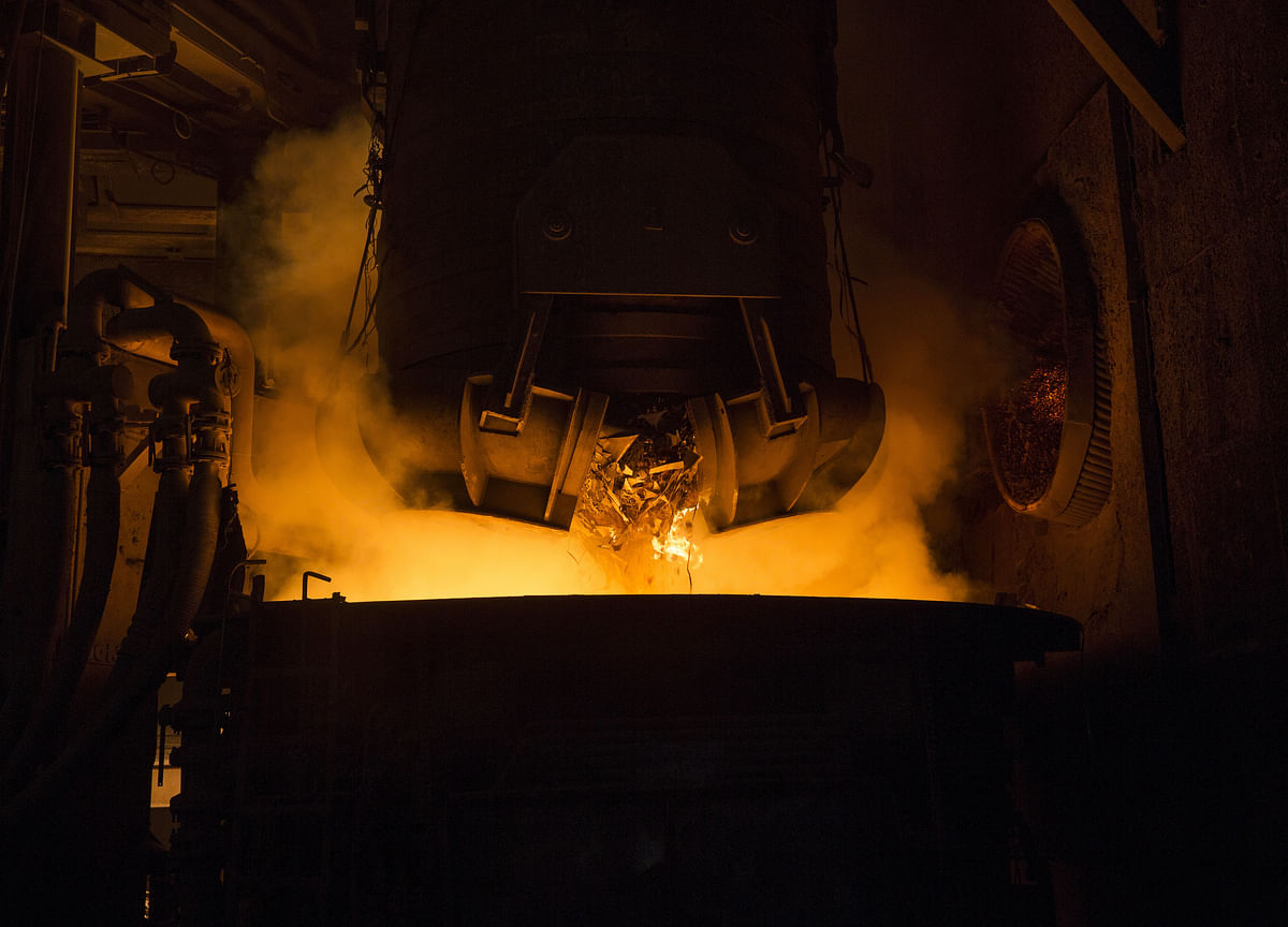 Tata Steel Crude Steel Production Rises 4.65%  In July-September