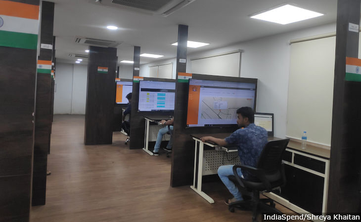 The Indore Municipal Corporation has set up a 'command centre' to track garbage vans around the city. GPS tracking enables the team to track all routes and every stop these vans make and provide assistance in case of breakdowns.