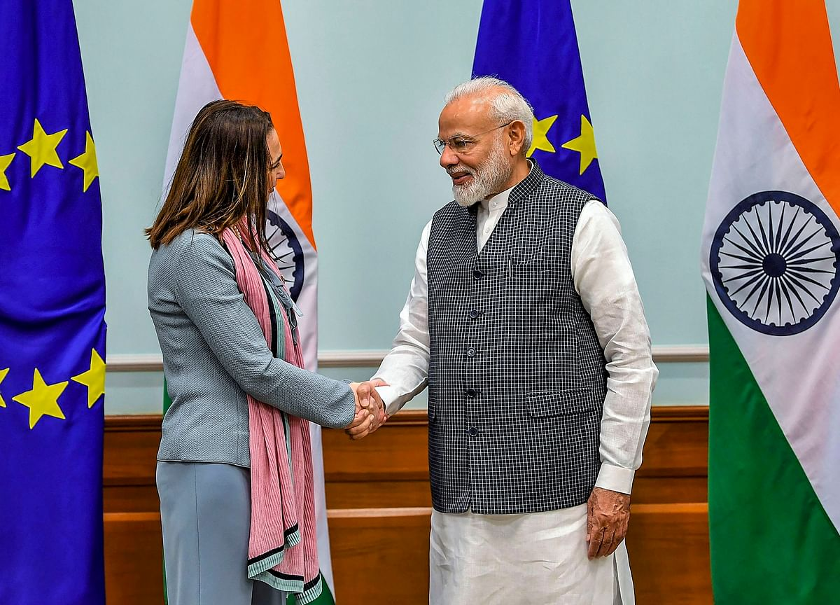 EU Delegation Meets PM Modi Ahead Of Planned J&K Visit