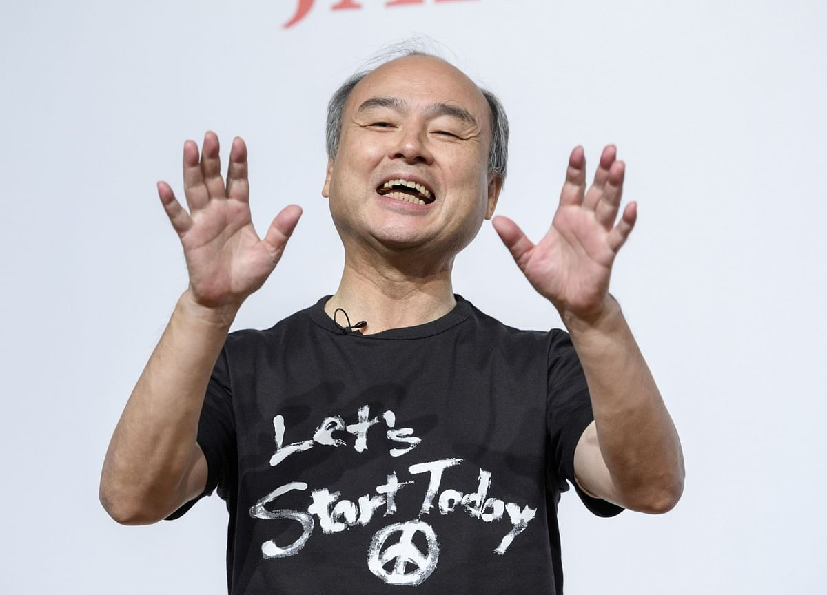 SoftBank's Masayoshi SonIs 'Embarrassed' ByRecord