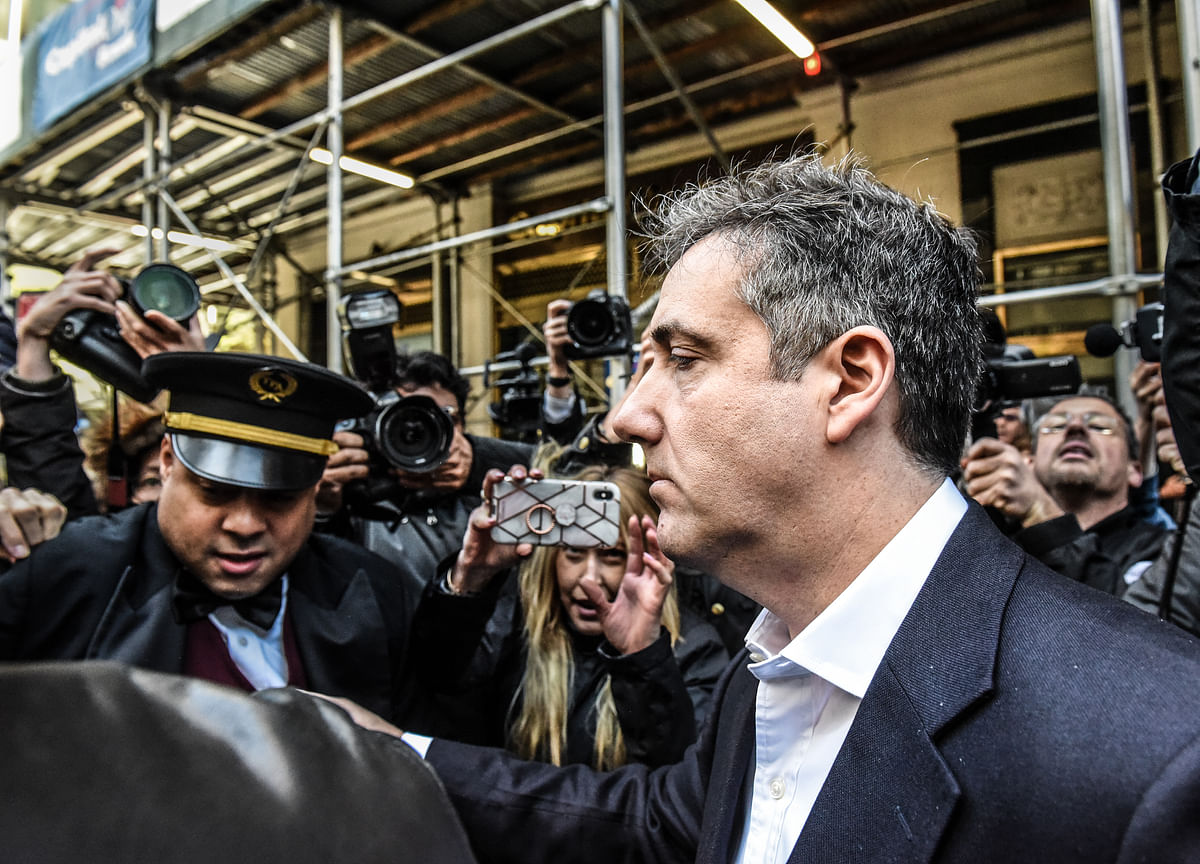 Michael Cohen Takes Starring Role in DA's Pursuit of Trump's Business