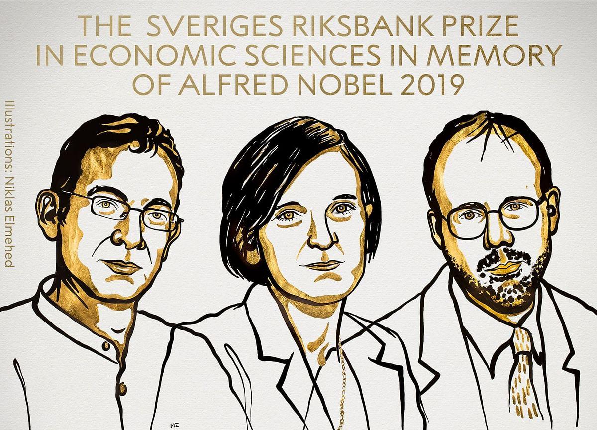 Nobel Economics Prize Won by Trio Fighting Global Poverty