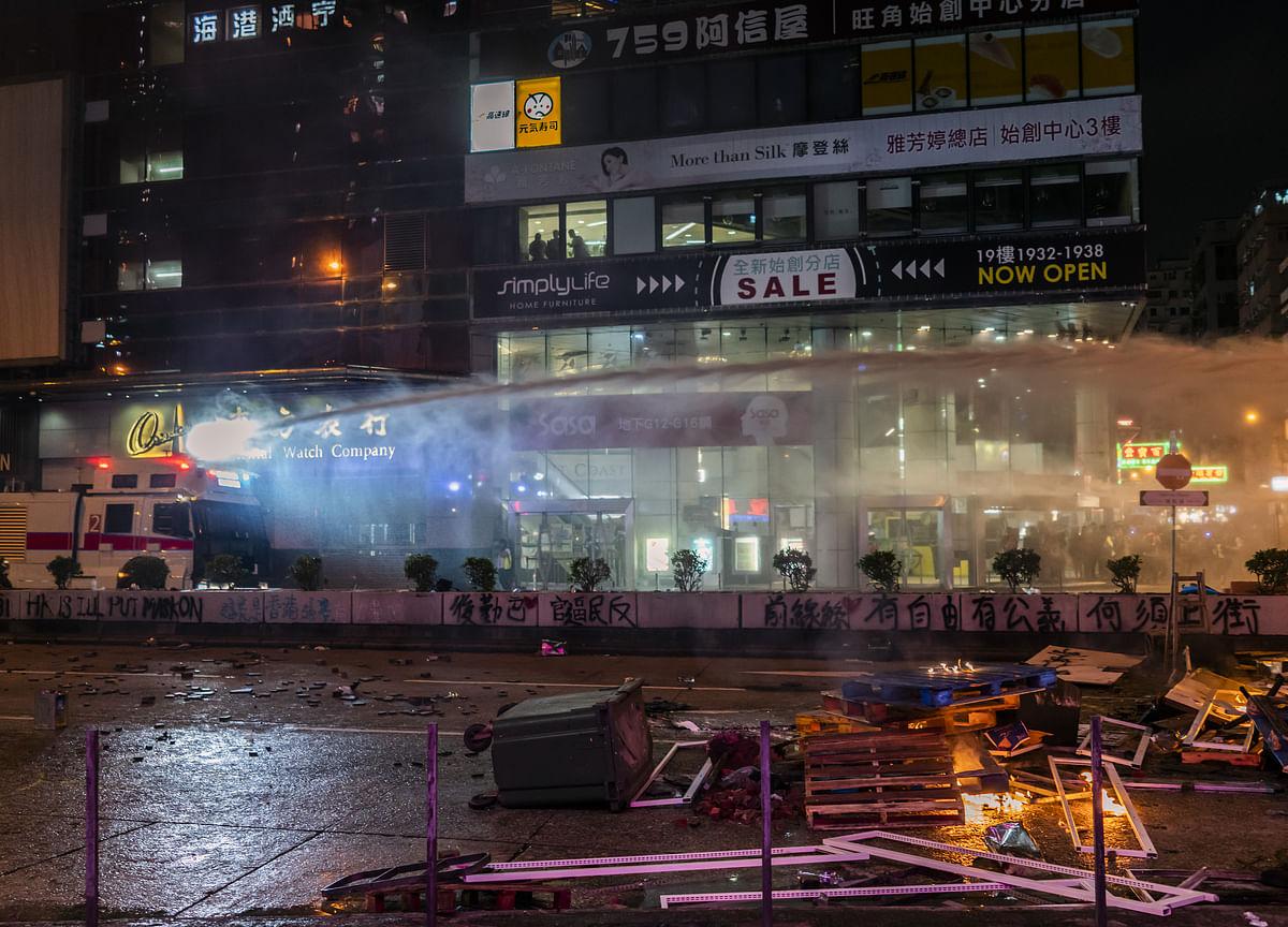 Hong Kong's Lam to Visit Japan as Protest Violence Continues