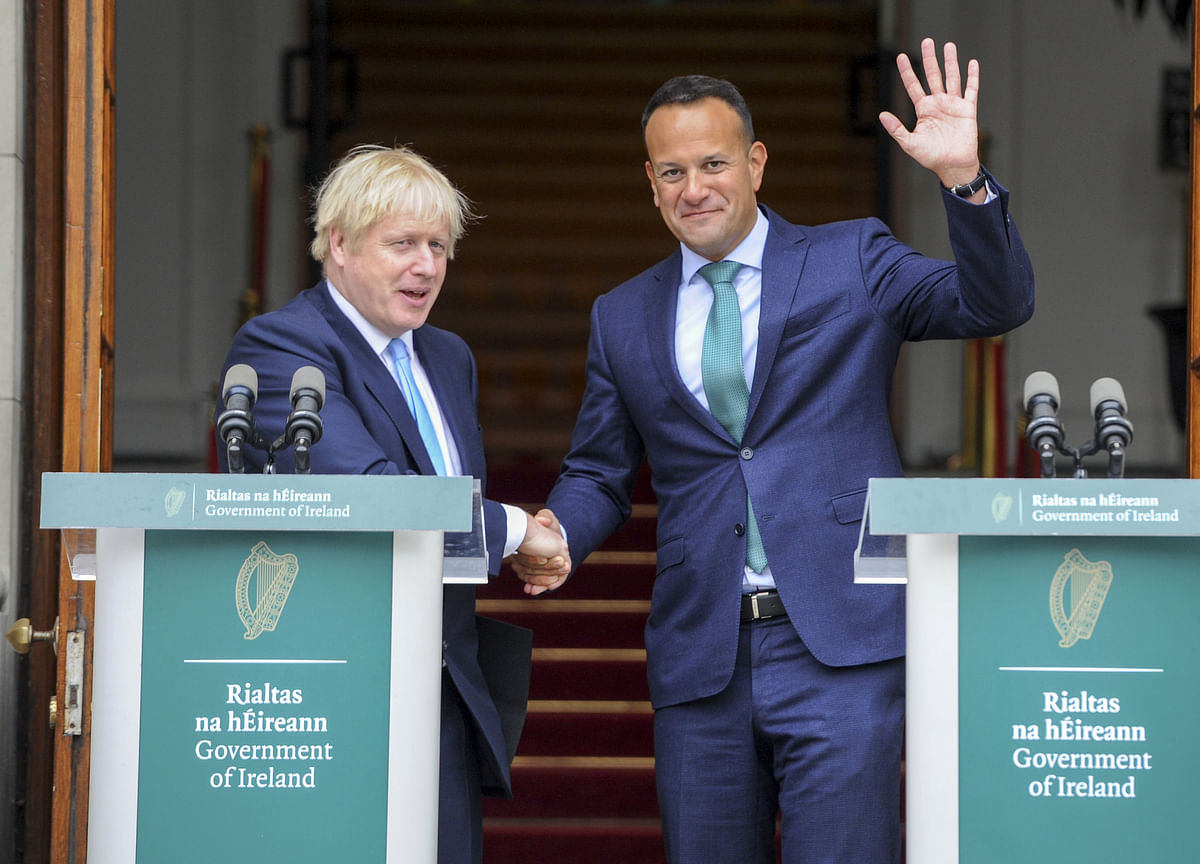 Johnson and Varadkar to Meet in Last-Ditch Bid for Brexit Deal