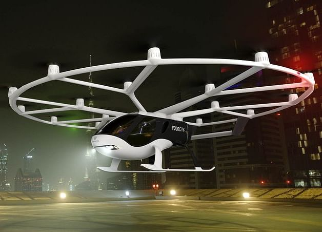 Flying Taxis of the Future Look Like Toys Come to Life