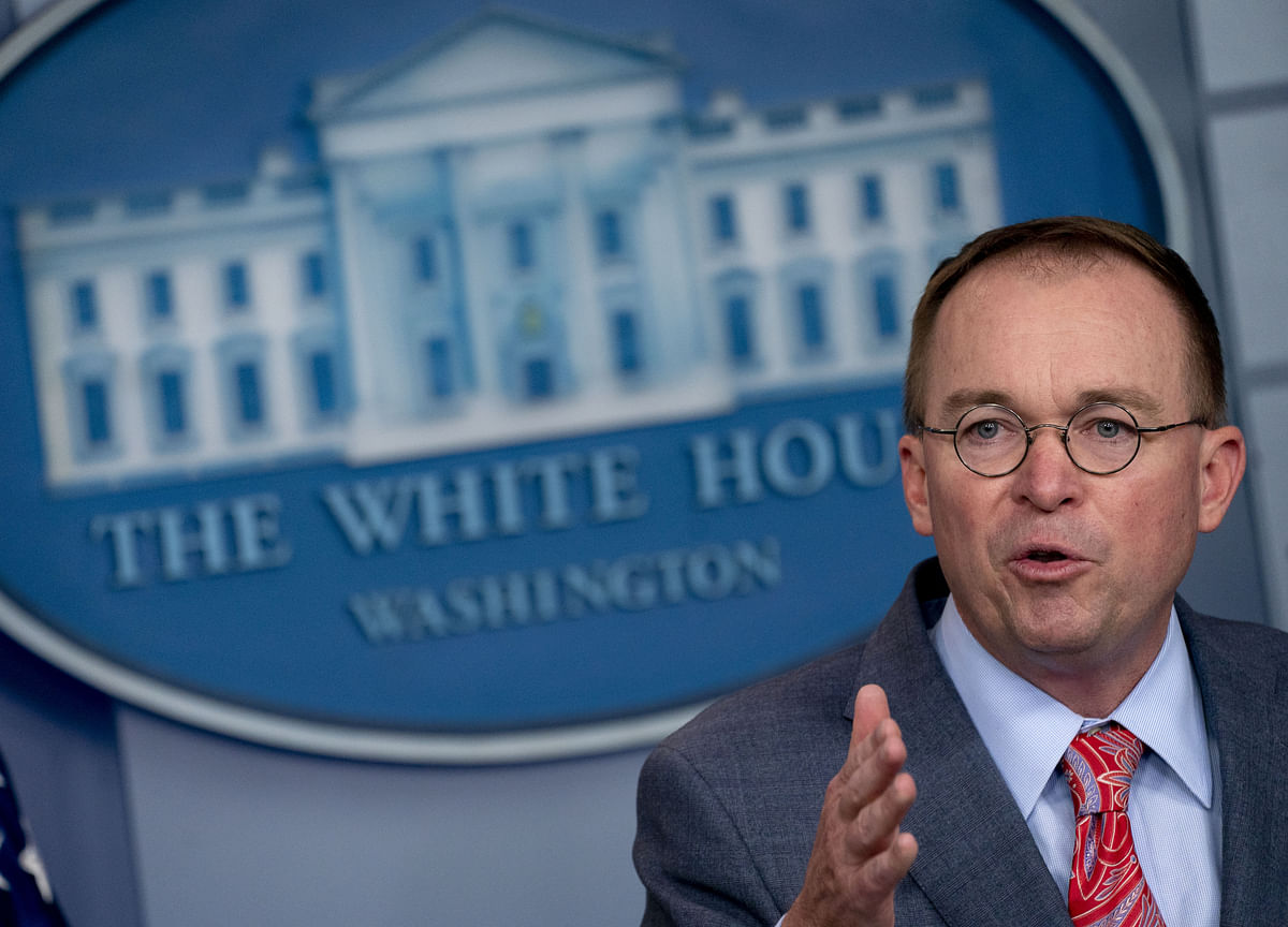 Mulvaney Denies Admitting Quid Pro Quo on Ukraine Military Aid