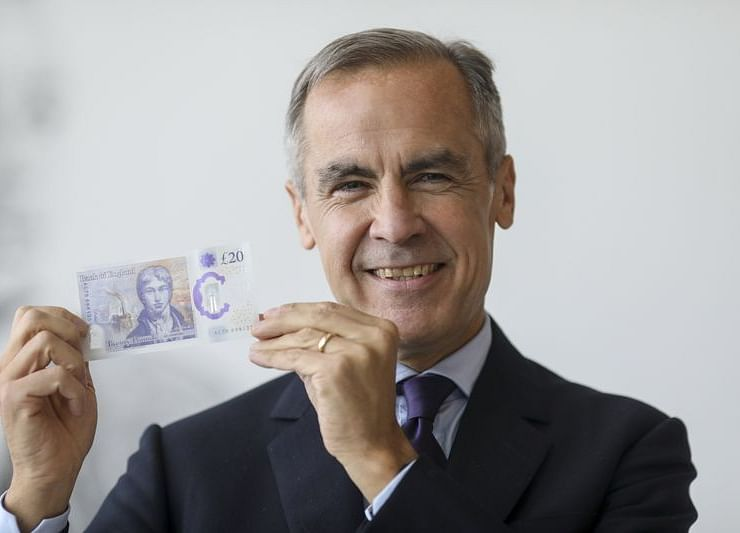 Bank of England Unveils New £20 Note With Turner's Image