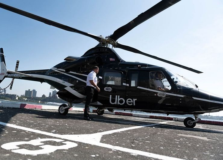 Uber Copter Will Now Fly YouOver City Gridlock