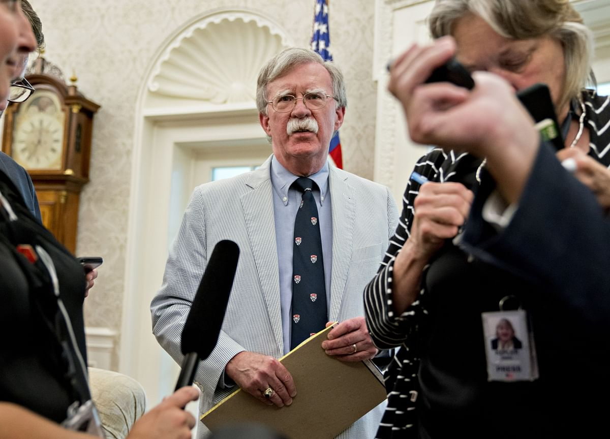Trump Lawyers Largely Ignore Bolton Revelations in Senate Trial