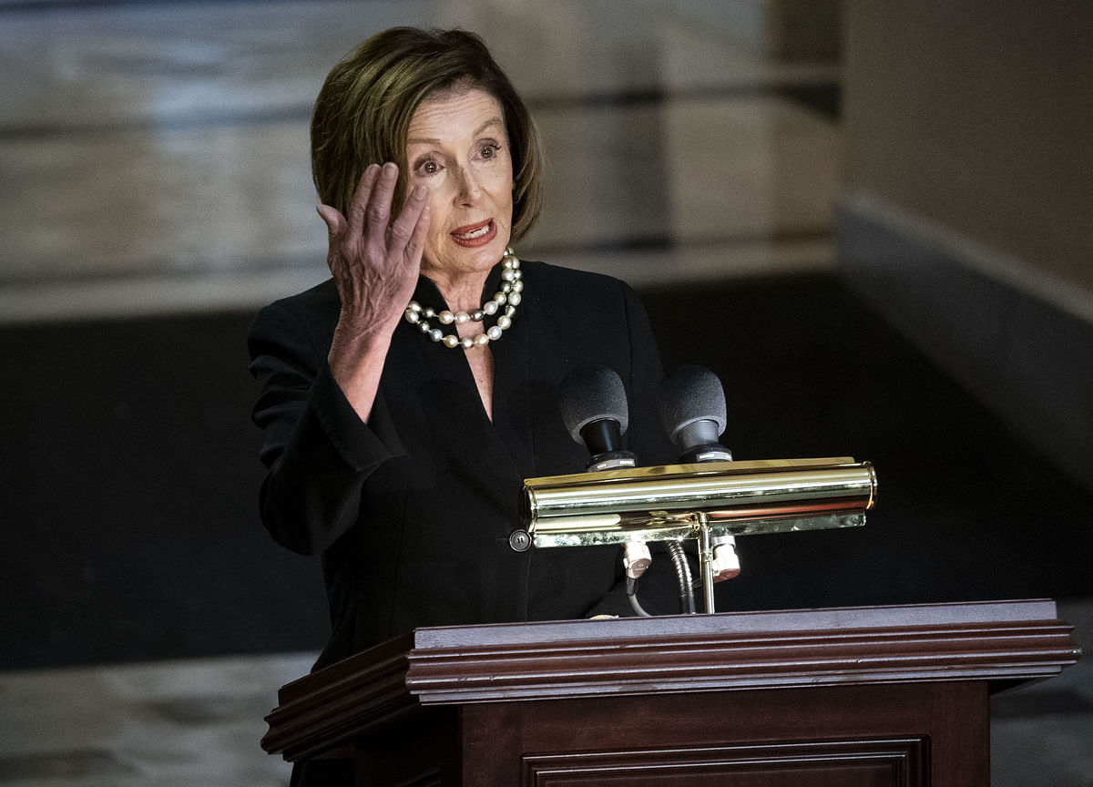 Pelosi Says House to Vote This Week on Impeachment Inquiry