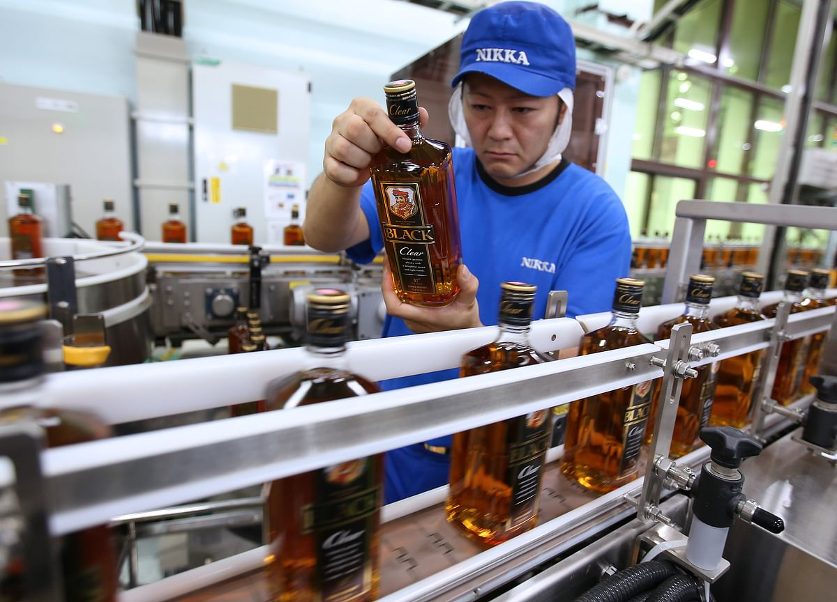 Global Whiskey Boom Has Japanese Distillery Working Day and Night