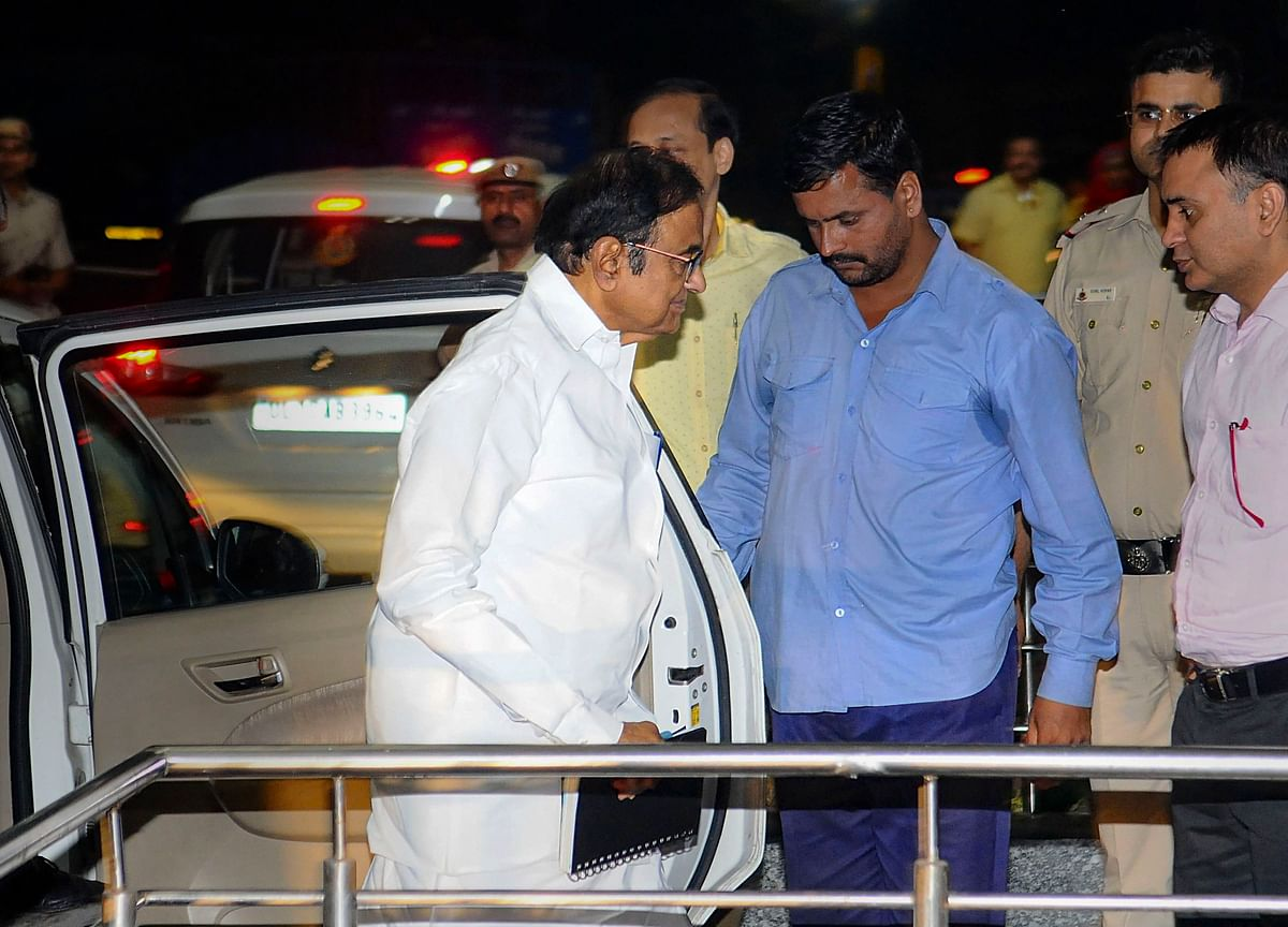 Chidambaram Taken To AIIMS After Complaints Of Stomach Ache, Other Illness