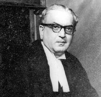 Chief Justice MC Chagla. (Photograph: Bombay High Court)
