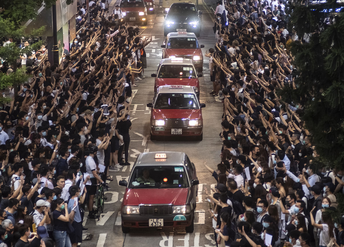 Police Call for Hong Kong Curfew as Shooting of Protester Sparks Fury