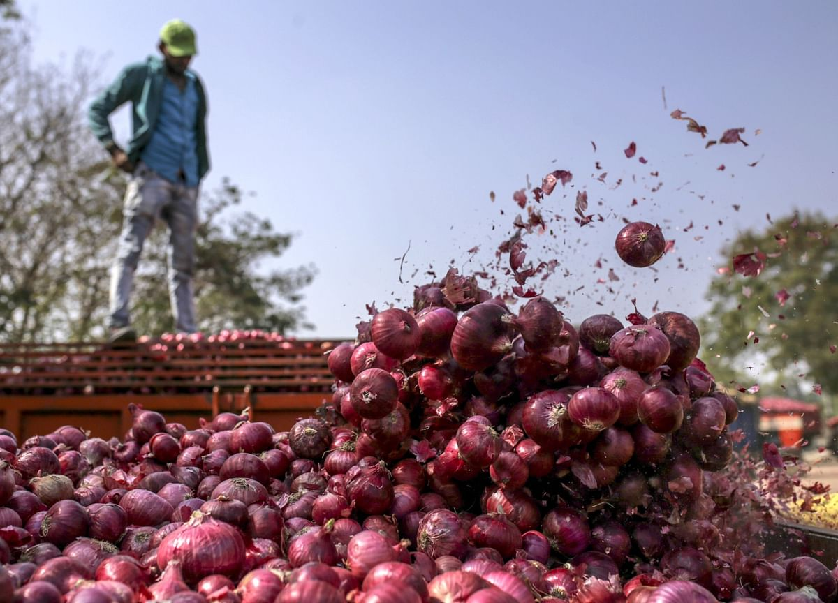 India Bans All Onion Exports After Prices Soar