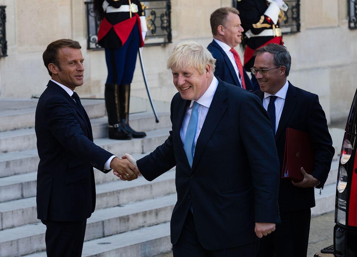Emmanuel Macron Can't Save Boris Johnson