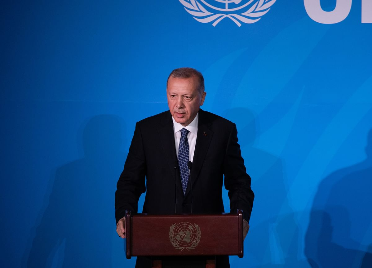 Erdogan Rules Out Syria Withdrawal Before Others Leave