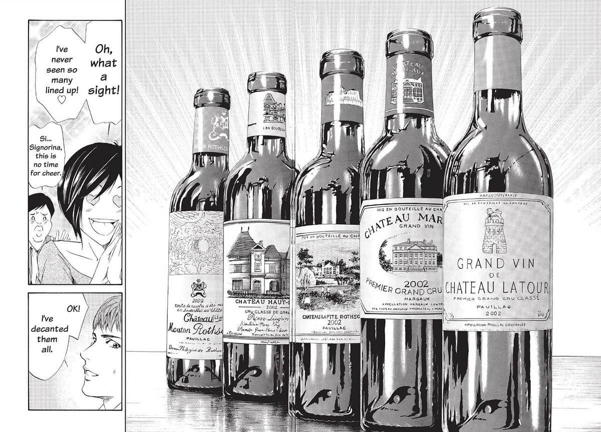 Wildly Popular Japanese Manga Storms U.S., With Wine in Tow