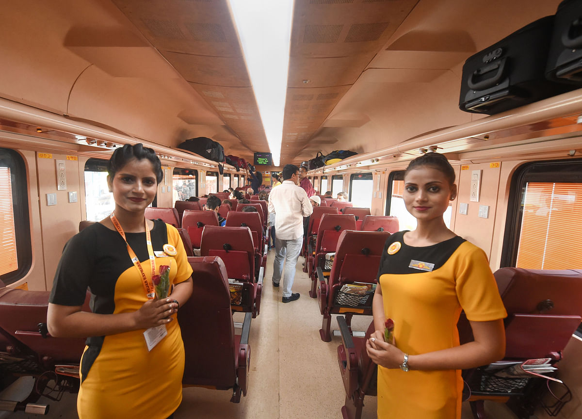 Second Tejas Express To Hit Tracks On Jan. 17