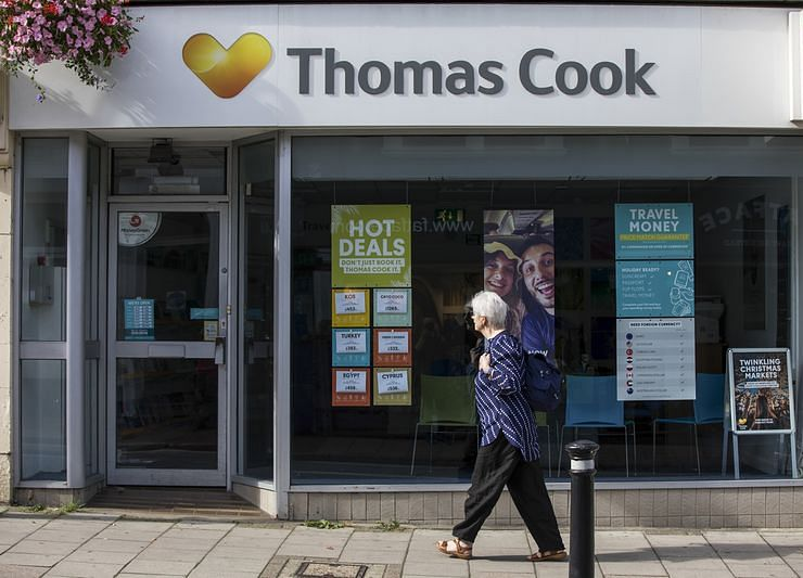 Buyer of Thomas Cook Shops Says Travel Group Can Thrive Without Airline Costs