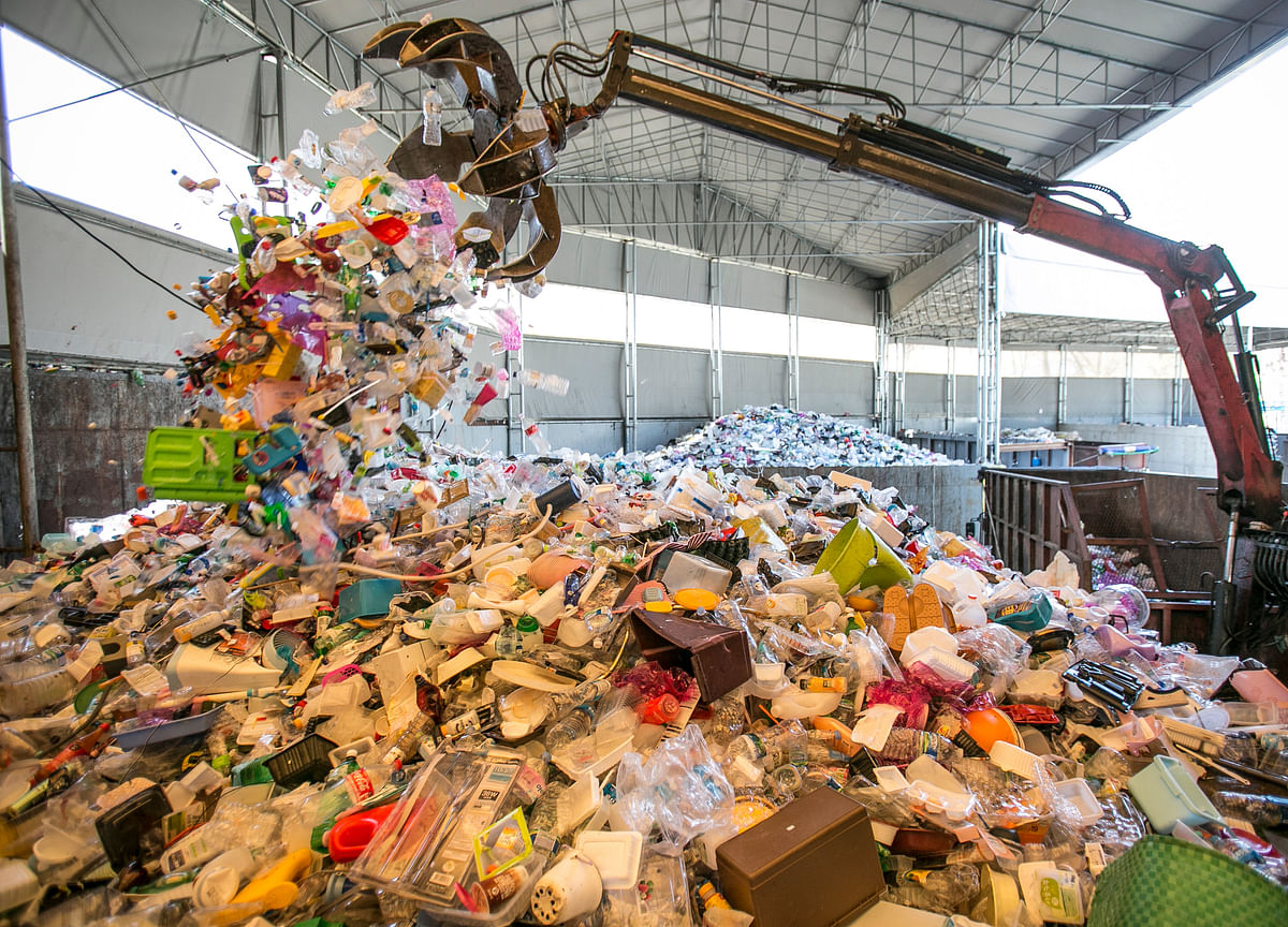 Diapers to Bricks: A $100 Billion Plastic Challenge