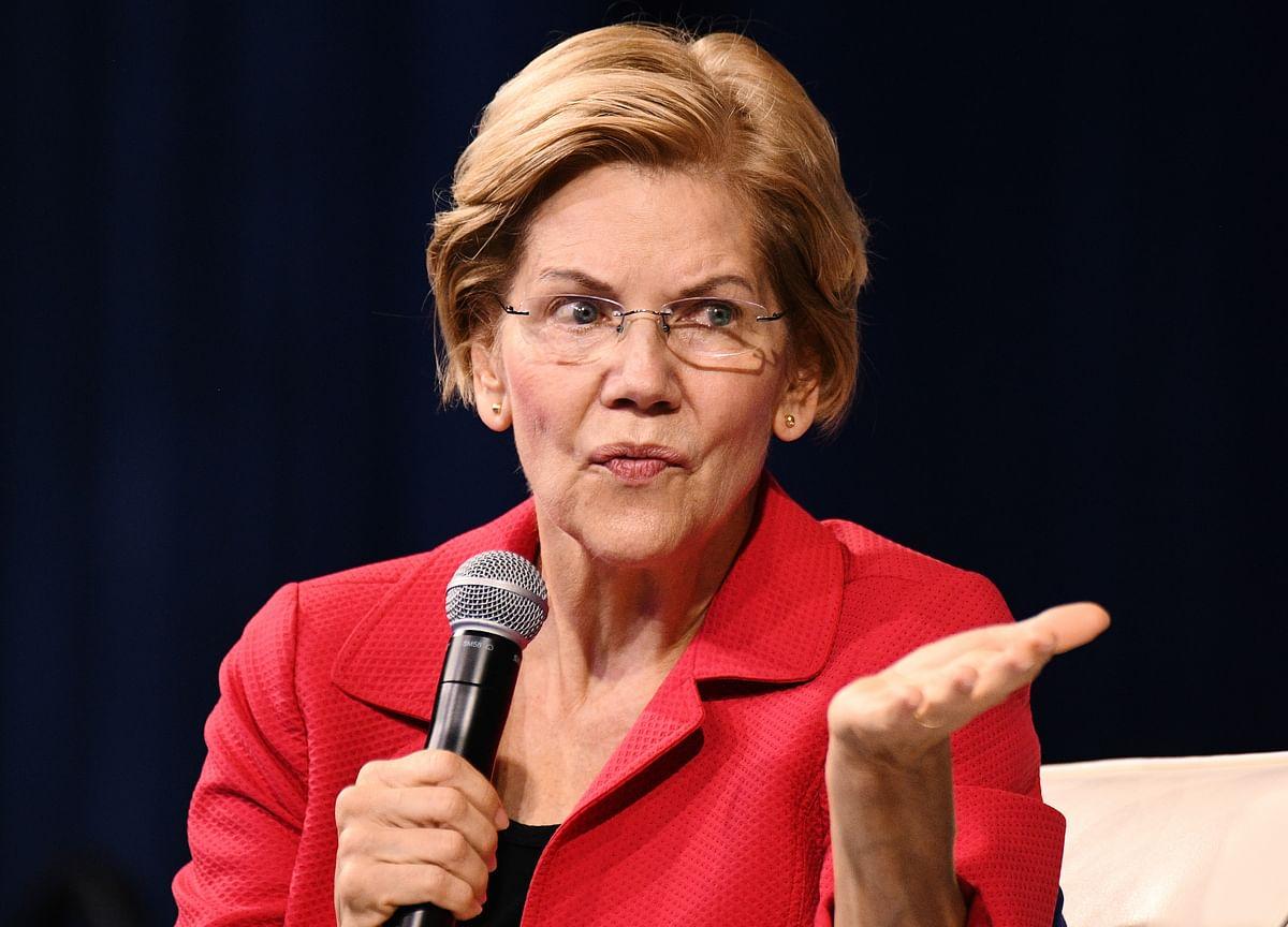 Elizabeth Warren Seen as Nominee by 70% of Investors, Bank Survey Says