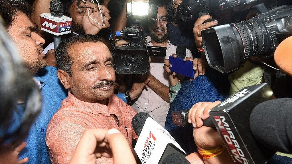 There is  reportedly no murder charge against Sengar and his associates in the charge sheet.