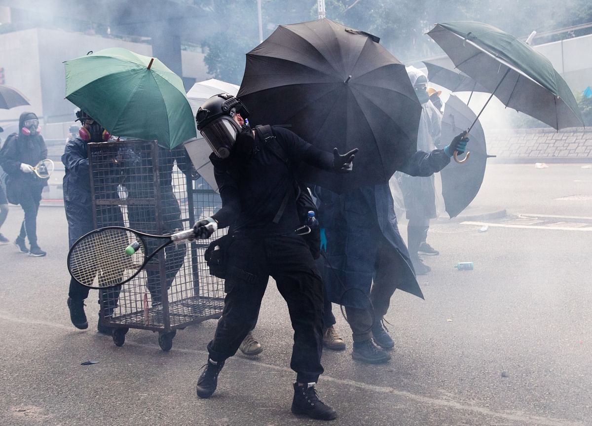 Protester Shot in H.K. on China's National Day: Hong Kong Update