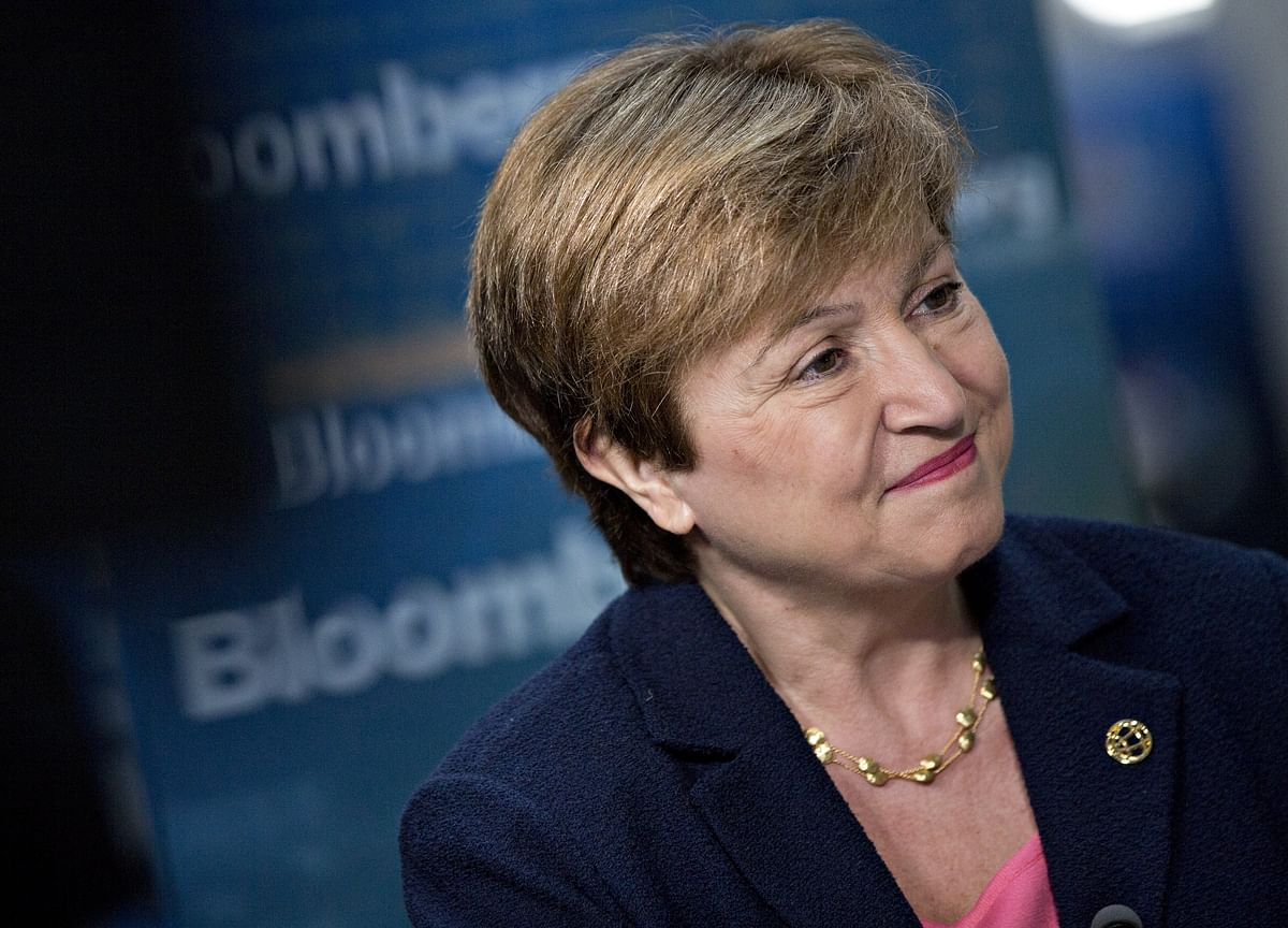 IMF Will Include Climate in Country Analysis, Georgieva Says