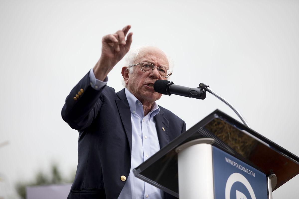 Sanders Says Trump Trial Creates 'Disadvantage'