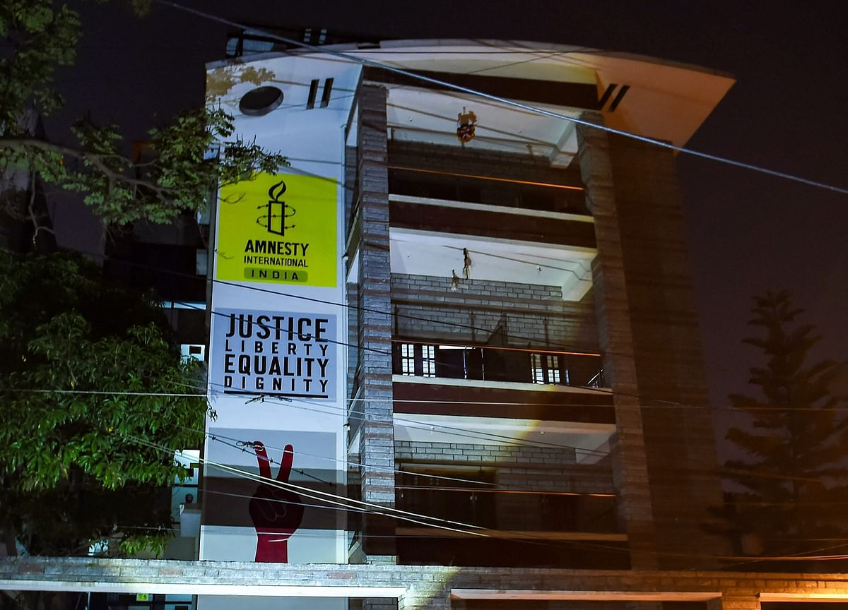 CBI Raids NGO Amnesty International India's Bengaluru And Delhi Offices