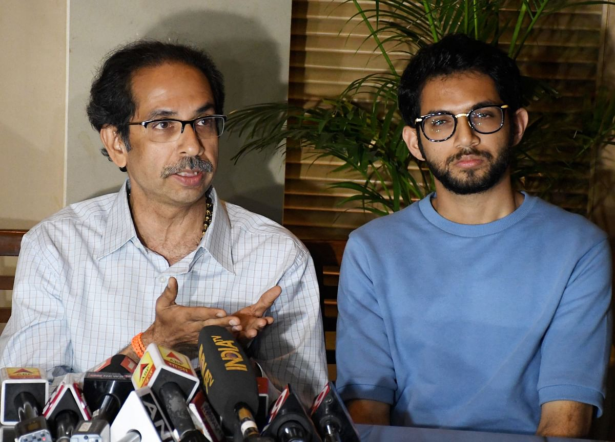 Uddhav Thackeray, His Son Aaditya Meet Sharad Pawar In Mumbai