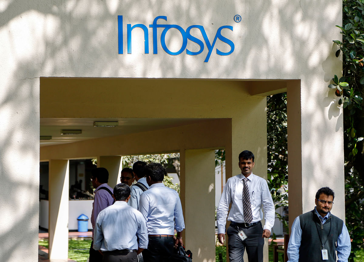 Infosys Drives India's Sensex to Record After 3Q Earnings Beat