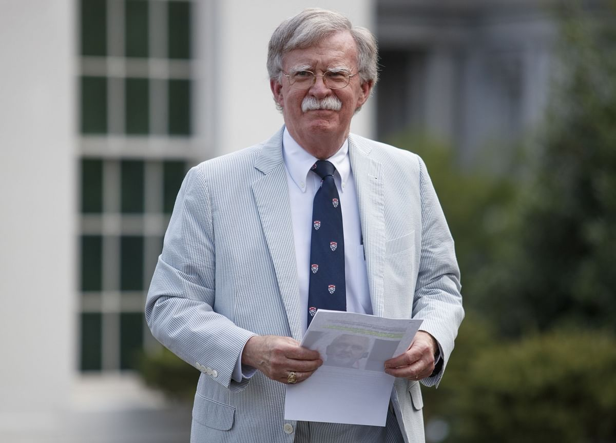 Bolton Ended Ukraine Meeting Over Probe Demand, Officials Say
