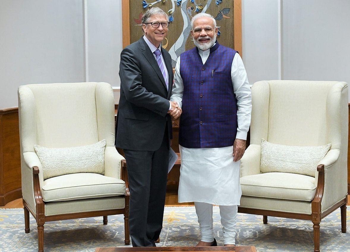 Bill Gates Meets Prime Minister Modi