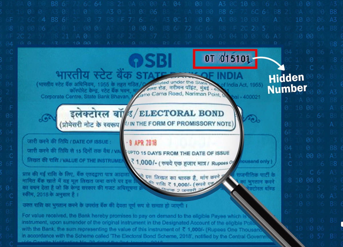 Secret Policing? The Quint Finds Hidden Numbers on Electoral Bonds