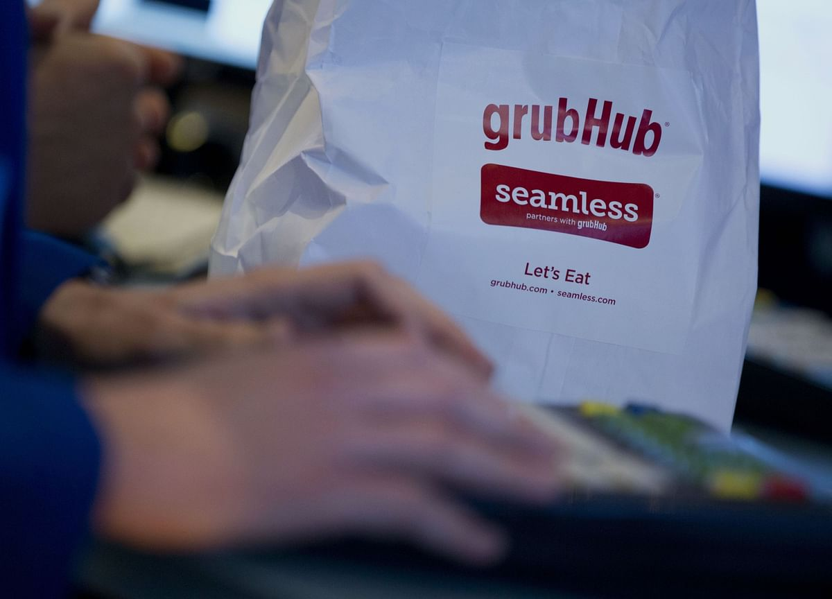 Grubhub Spikes After Sale Chatter Spurs Call for M&A
