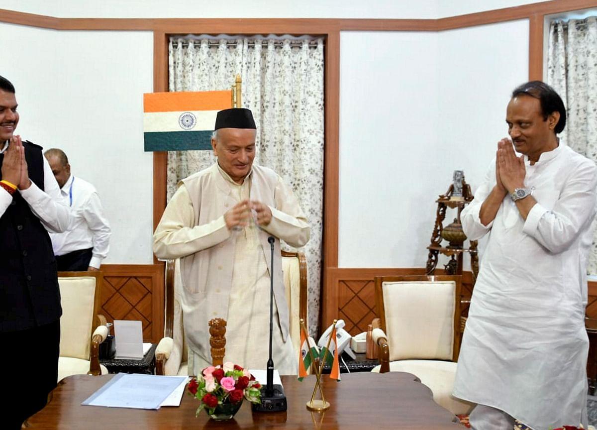 NCP Informs Maharashtra Governor Of Ajit Pawar's Replacement As Legislature Wing Leader