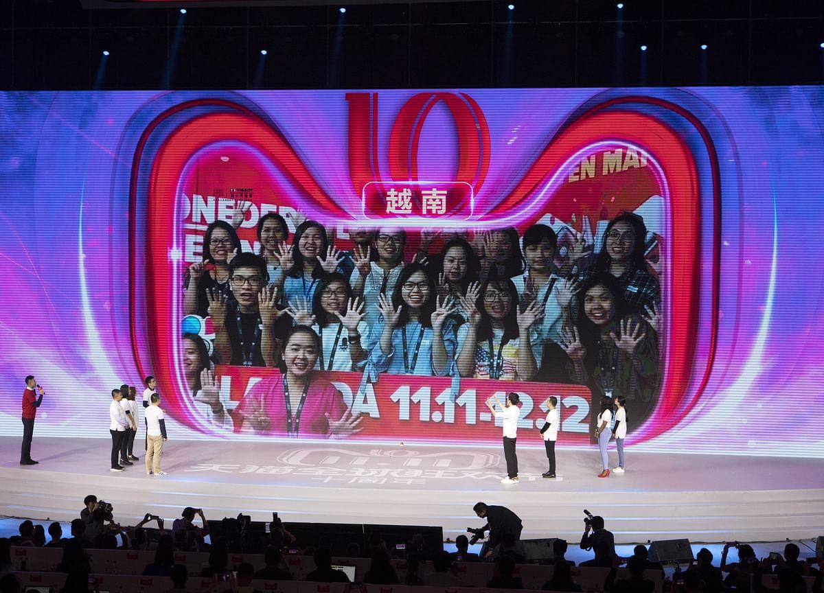 Alibaba Seals $38 Billion Singles' Day Sales Record