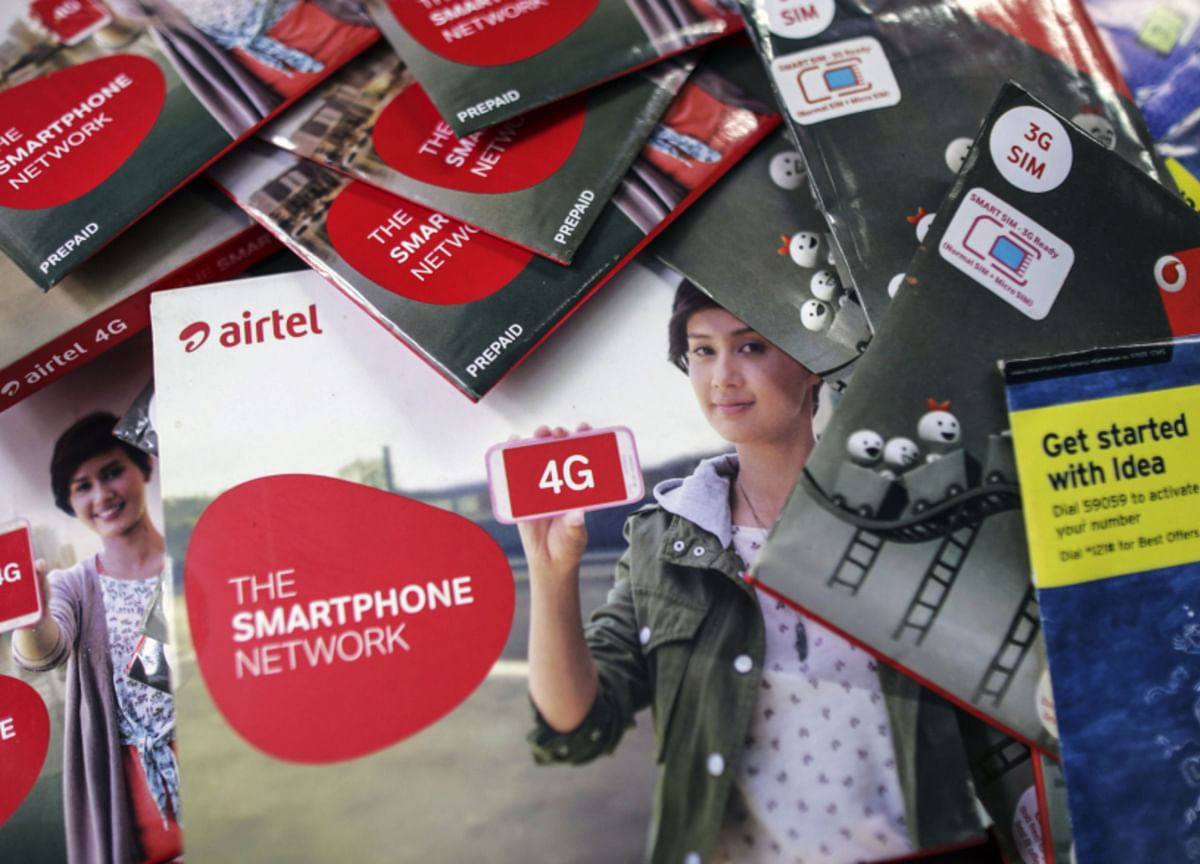 Vodafone Idea, Bharti Surge on Plan to Raise Mobile Tariffs