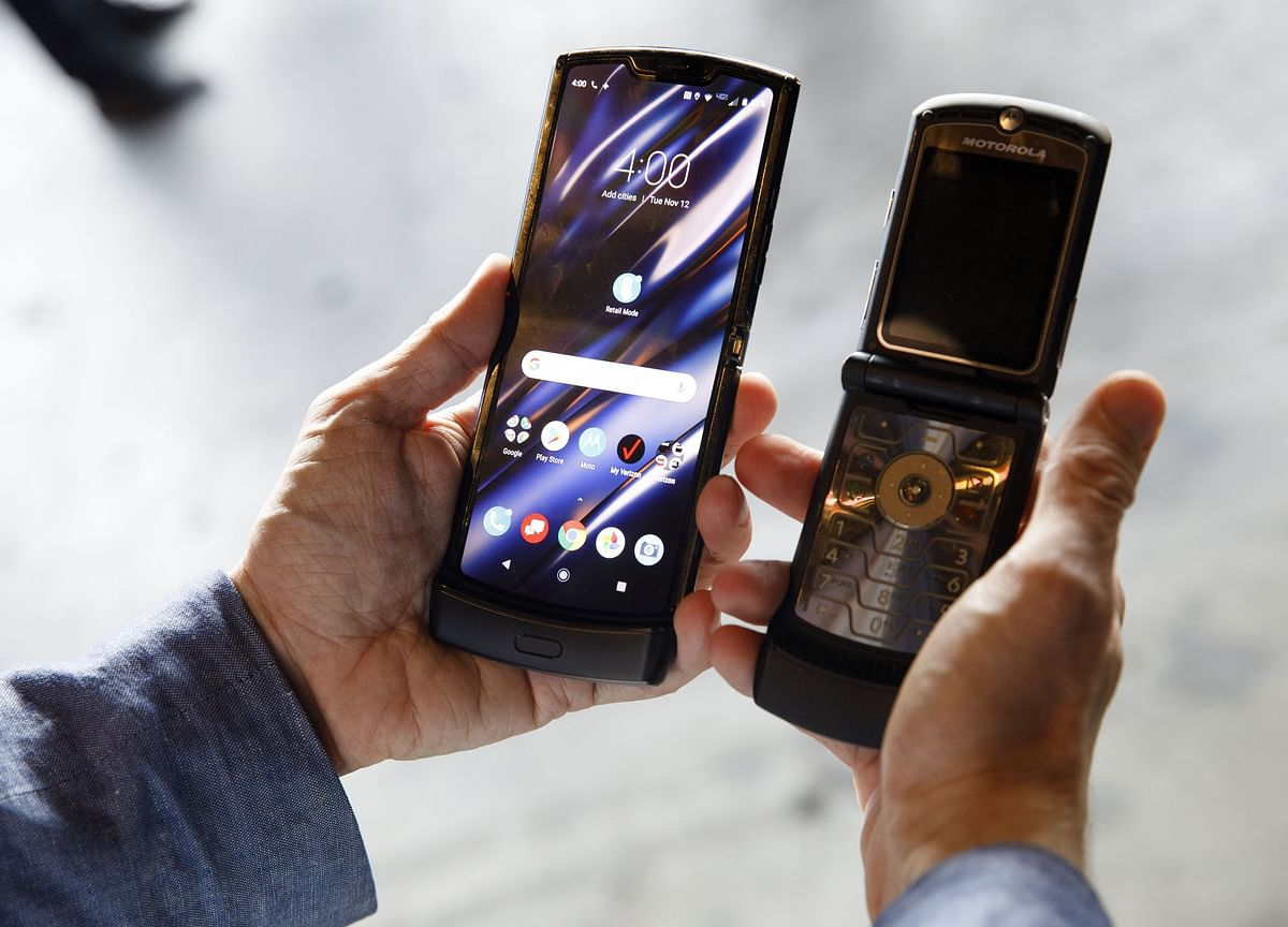 Motorola Brings Back the Razr as $1,500 Foldable Smartphone